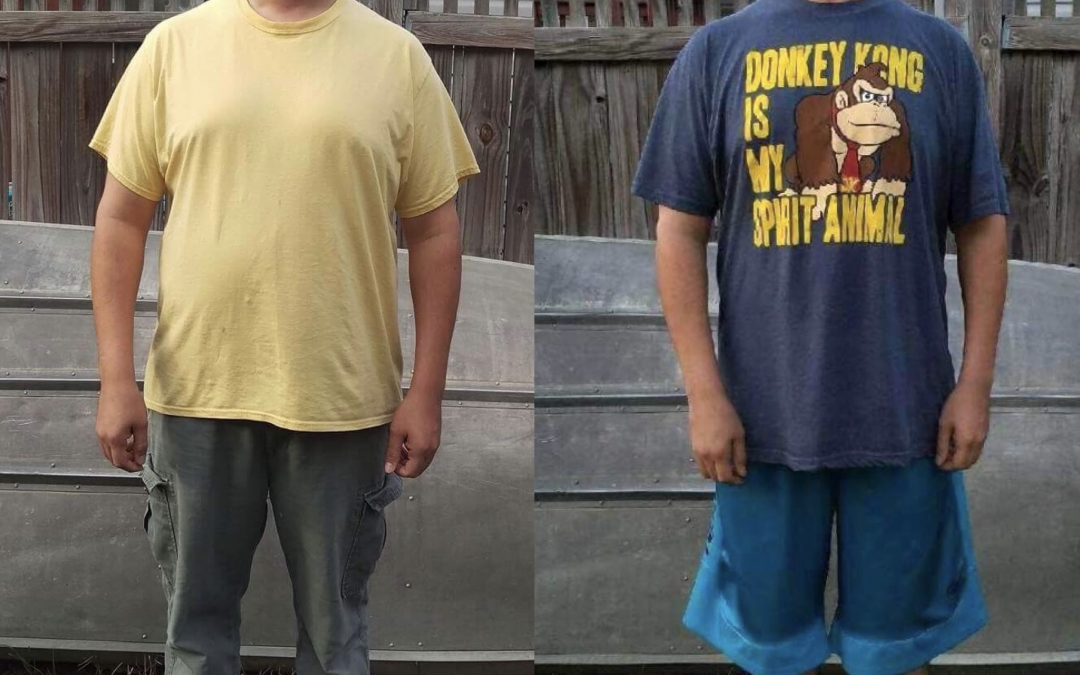 Patrick's amazing 34 pound weight loss in just…